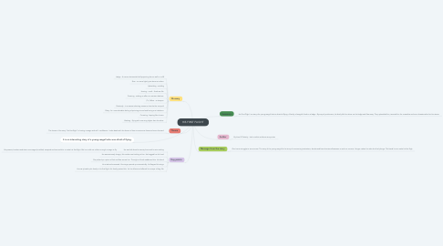 Mind Map: HIS FIRST FLIGHT