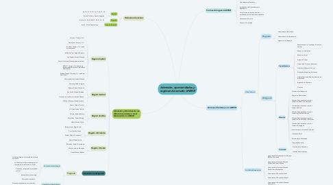 Mind Map: Admisión, oportunidades y régimen de estudio UNESR