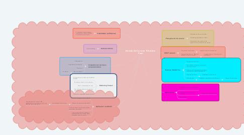 Mind Map: Gestão de Carreira  Relatório Final