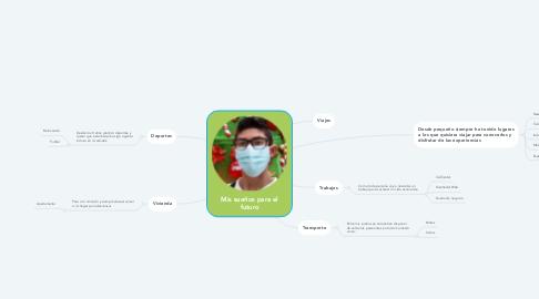 Mind Map: Mis sueños para el futuro