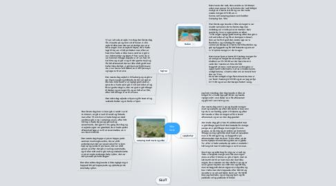 Mind Map: Min ferie