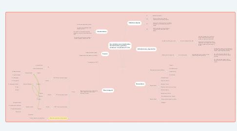 Mind Map: Columna Torácica