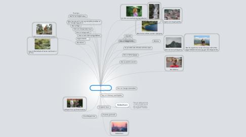 Mind Map: Min sommerferie