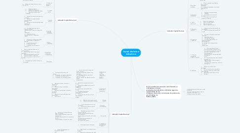Mind Map: Capital intelectual Indicadores
