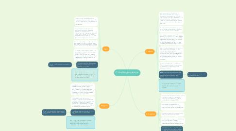 Mind Map: Ciclos Biogeoquímicos