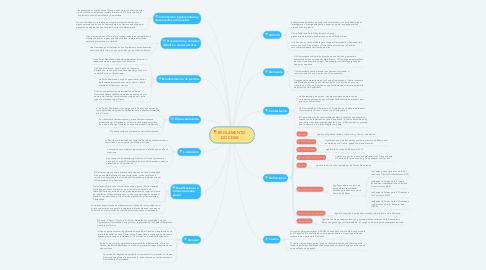 Mind Map: REGLAMENTO  DOCDEX