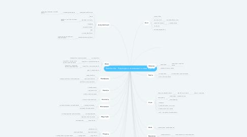 Mind Map: Searchanise - Структура с основными типами страниц