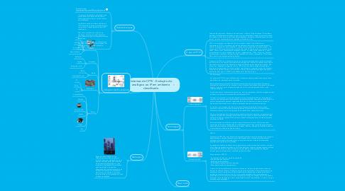 Mind Map: Sistemas de CFTV - Evolução doanalógico ao IP em ambienteclassificado
