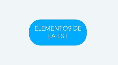 Mind Map: ELEMENTOS DE LA EST
