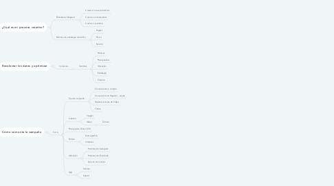 Mind Map: Como crear el primer el primer anuncio para Facebook
