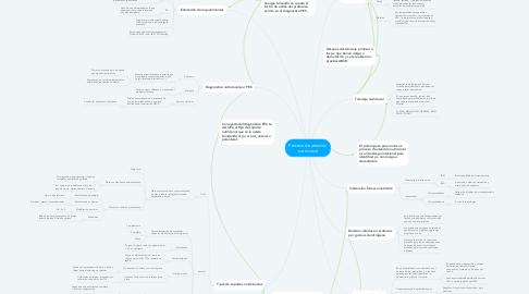 Mind Map: Proceso de atención nutricional