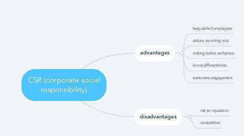 Mind Map: CSR (corporate social responsibility)