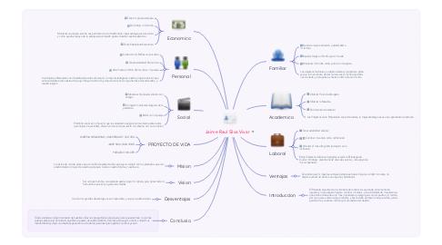 Mind Map: Jaime Raul Silva Vivar
