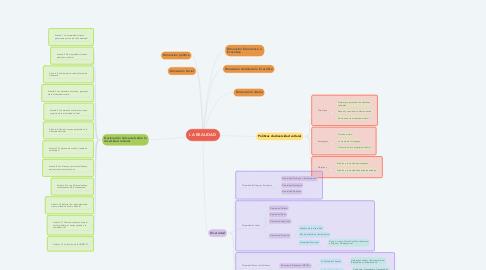 Mind Map: LA REALIDAD