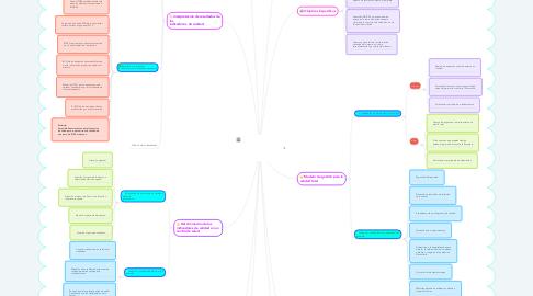 Mind Map: Manejo del Sistema INDICAS en el centro de  salud de San Cristóbal Tepatlaxco