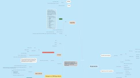 Mind Map: HALAL