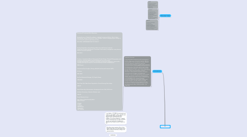 Mind Map: Jaco Fourie // CV for JobDuck 2021