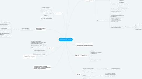 Mind Map: CARTOGRAFÍA SOCIAL