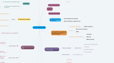 Mind Map: EL ADULTO MAYOR SANO