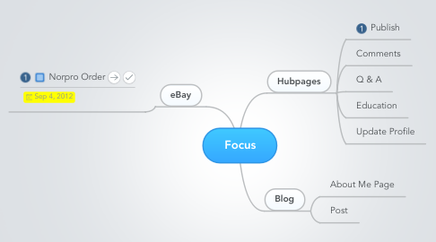 Mind Map: Focus
