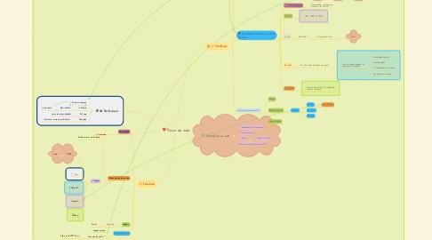 Mind Map: Plano de vida