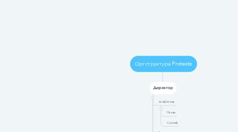 Mind Map: Оргструктура Protesto