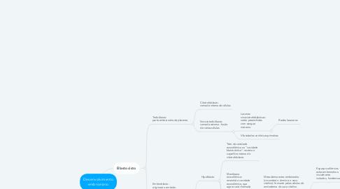 Mind Map: Desenvolvimento embrionário