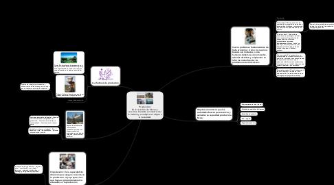 Mind Map: Producción: Es la creación de bienes y servicios. Consiste en transformar la materia y en adaptar el objeto a la necesidad.