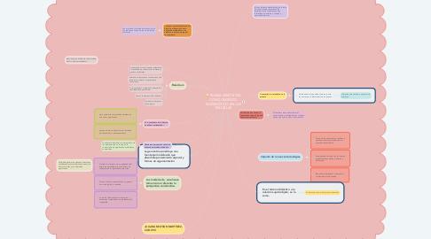 Mind Map: NUEVA VISIÓN DEL CONOCIMIENTO MATEMÁTICO EN LAS ESCUELAS