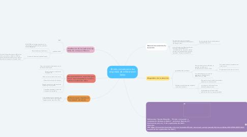 Mind Map: El reto, convencer a las empresas de enlistarse en bolsa