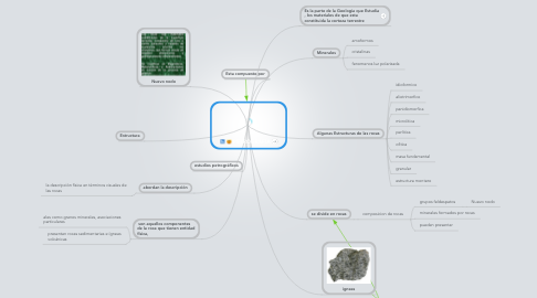 Mind Map: PETROGRAFÍA