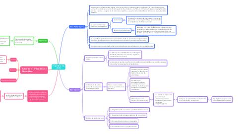 Mind Map: Perspectivas de la tutoría