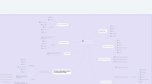 Mind Map: CANAL DE COMUNICACION