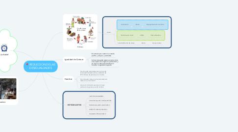 Mind Map: REDUCCION DE LAS DESIGUALDADES