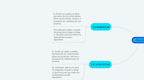 Mind Map: Focus Group