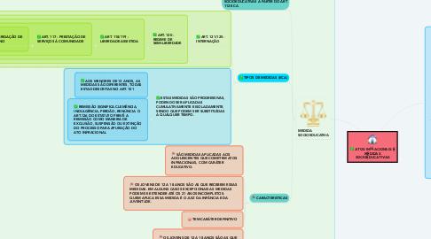Mind Map: COLOCAÇÃO EM FAMÍLIA SUBSTITUTA