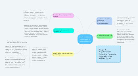 Mind Map: Los 5 principios básicos de la neuroeducación