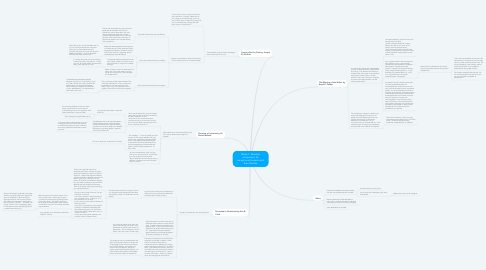Mind Map: Week 1: Develop compassion for exceptional students and their families