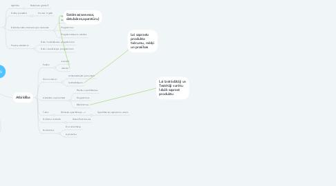 Mind Map: Sistēmu analītiķis