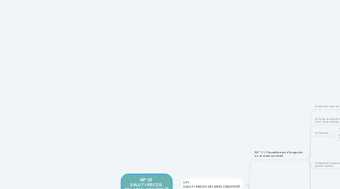 Mind Map: MP 05  SALUT I RISCOS  DEL MEDI CONSTRUÏT