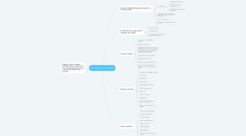 Mind Map: Metodologia da Consulta