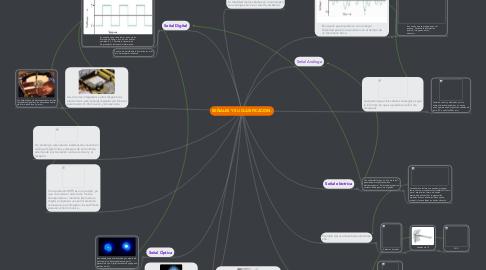 Mind Map: SEÑALES Y SU CLASIFICACION.