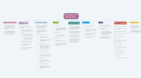 Mind Map: Cap 9. Maslow: La teoría Holístico- Dinámica.        Monserrat Landero