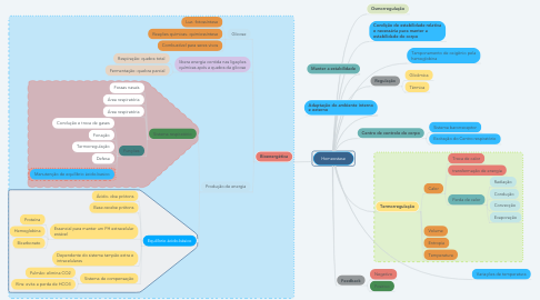 Mind Map: Homeostase