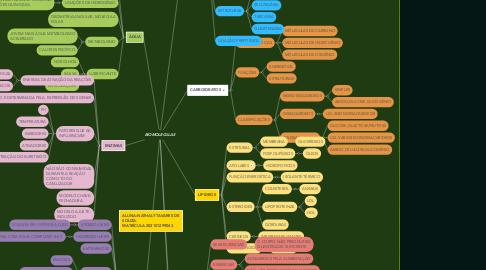 Mind Map: BIOMOLECULAS