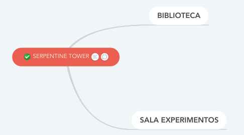 Mind Map: SERPENTINE TOWER