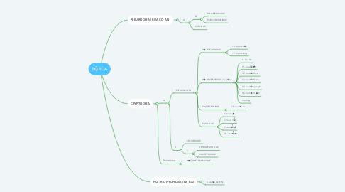Mind Map: BỘ RÙA