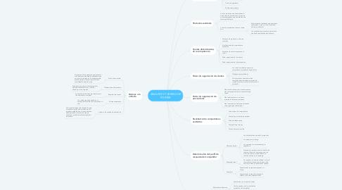 Mind Map: ANALISIS 5 FUERZAS DE PORTER