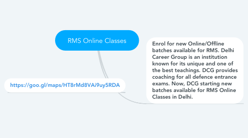 Mind Map: RMS Online Classes