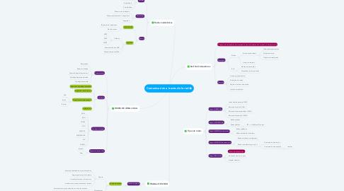 Mind Map: Comunicación a través de la red